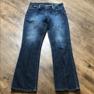 Lucky brand easy rider jeans size 6 short